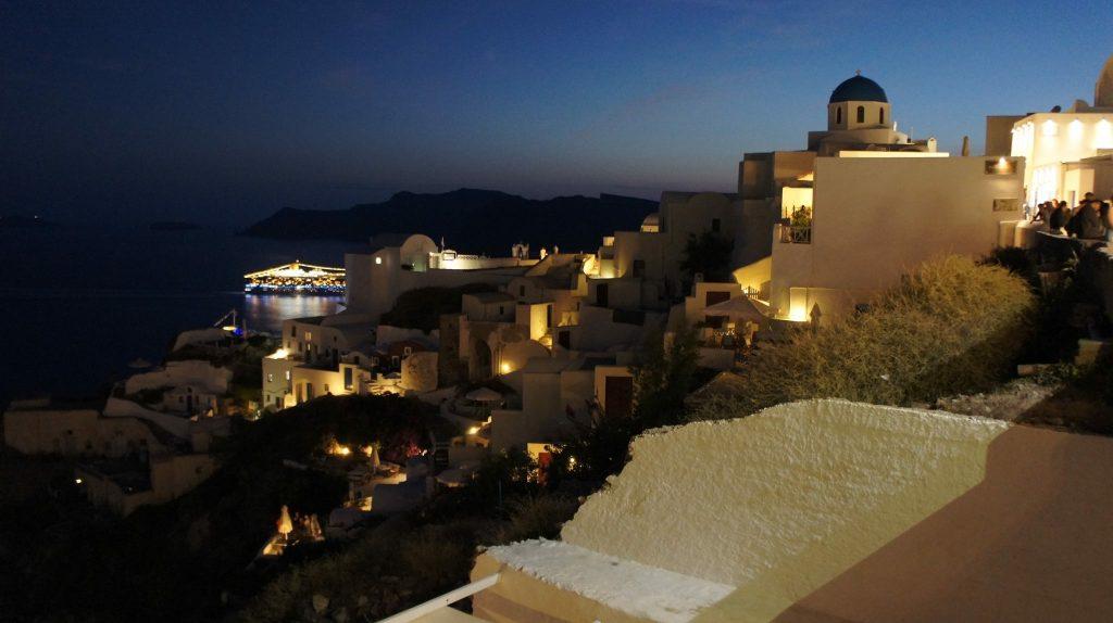 Verdienst einer Wiesnbedienung Urlaub Santorin