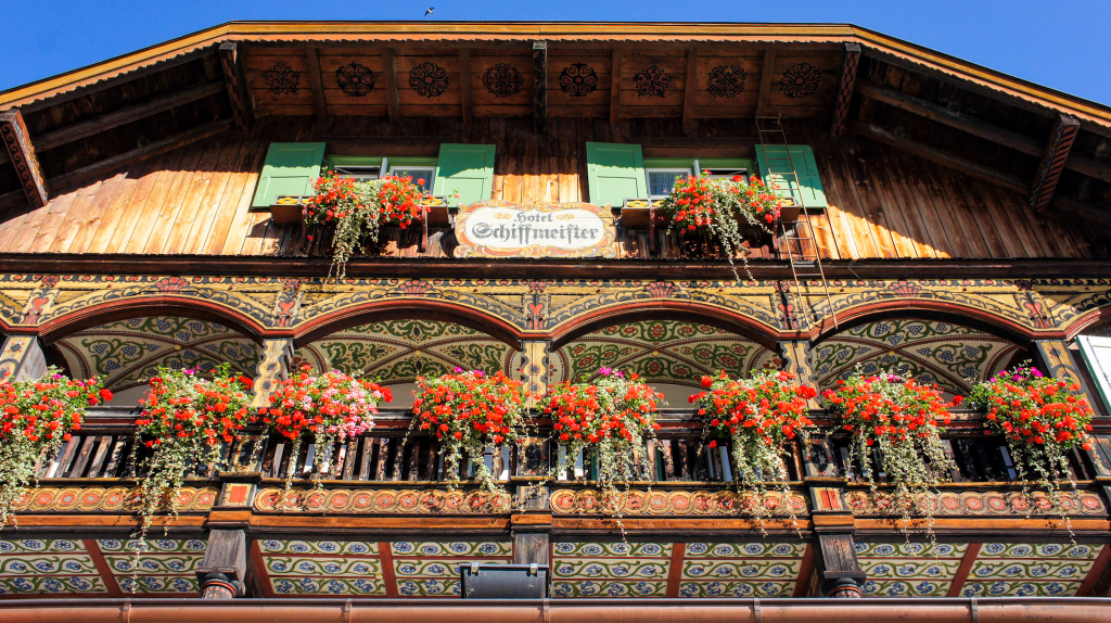 hotel-schiffmeister-koenigssee-bayern-haus-malerei