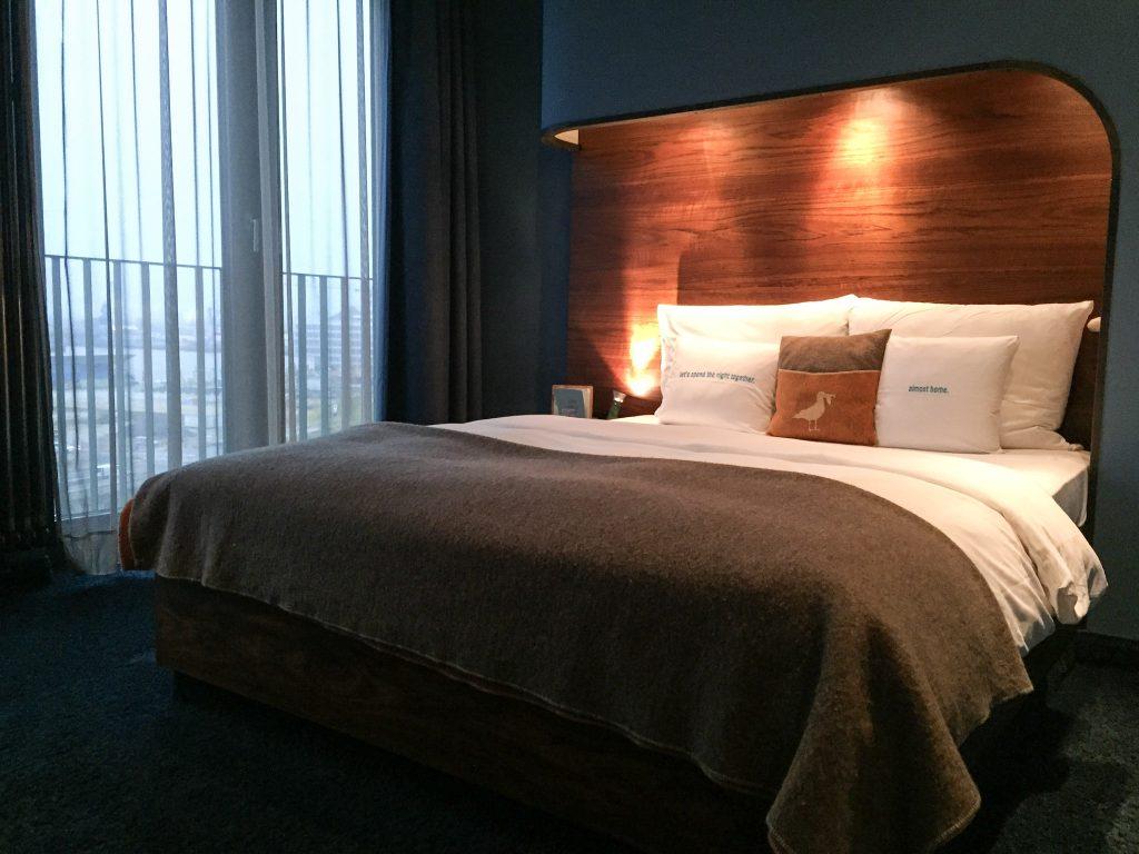 Bett M-Koje Hamburg 25hours Hafencity Zimmer