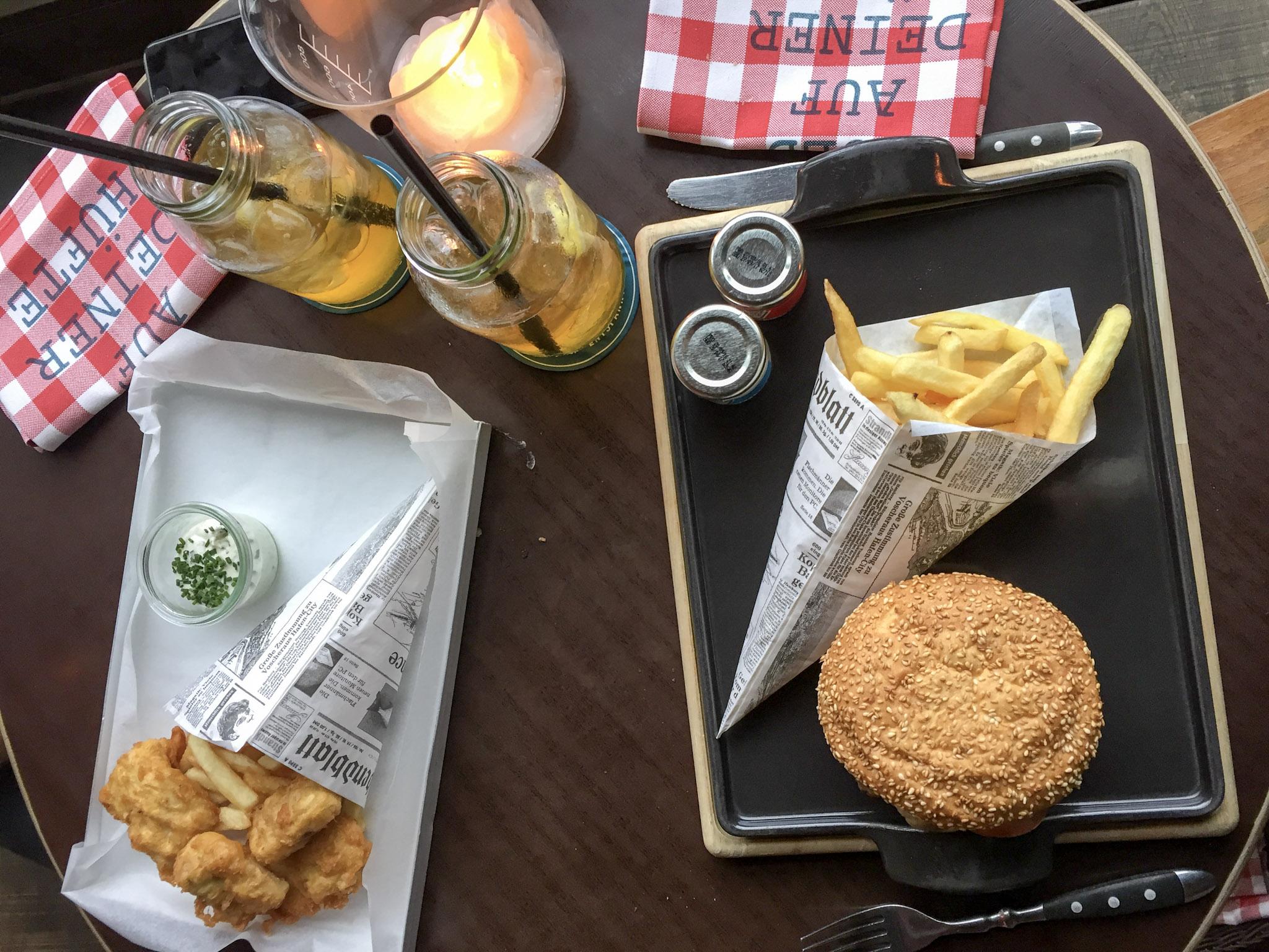 Lunch Heimat Küche und Bar Hamburg Hafencity 25hours Hotel ...