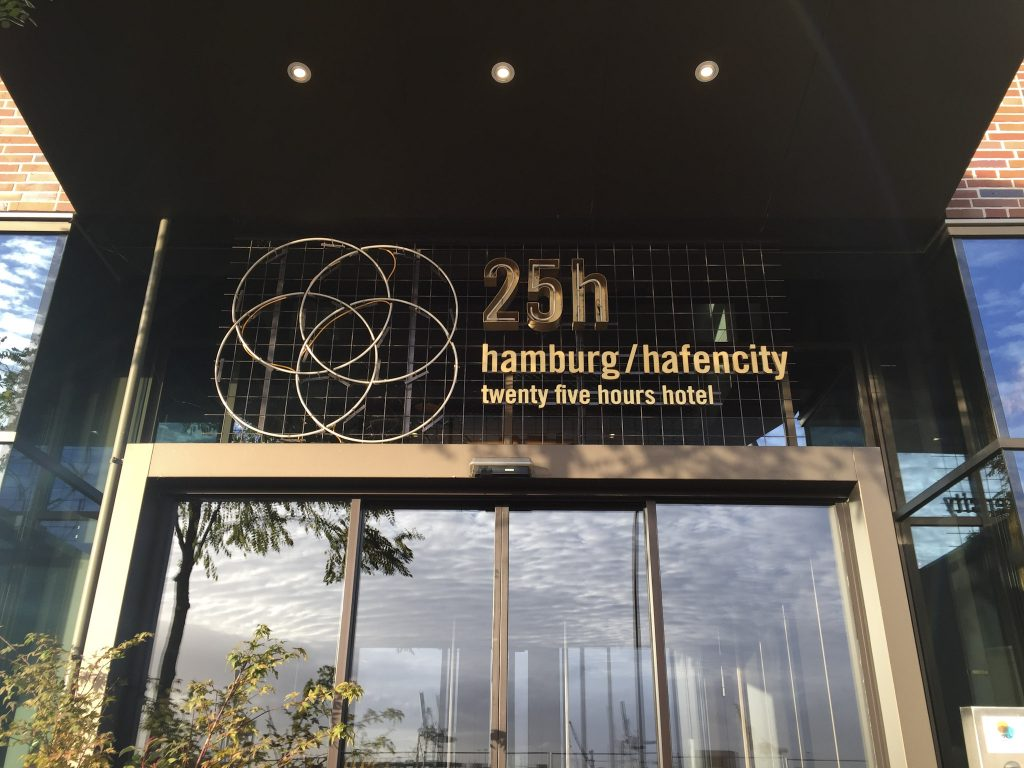 25hours Hafencity Hamburg Hotel Eingang