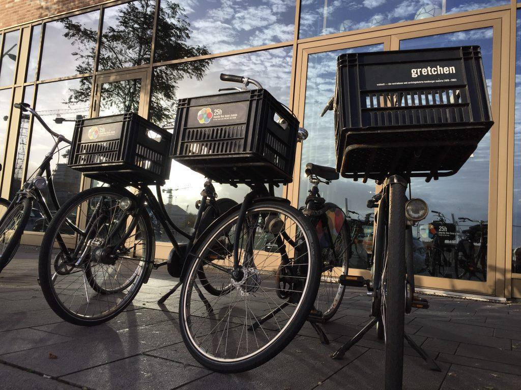 25hours Hafencity Hamburg Hotel Fahrräder