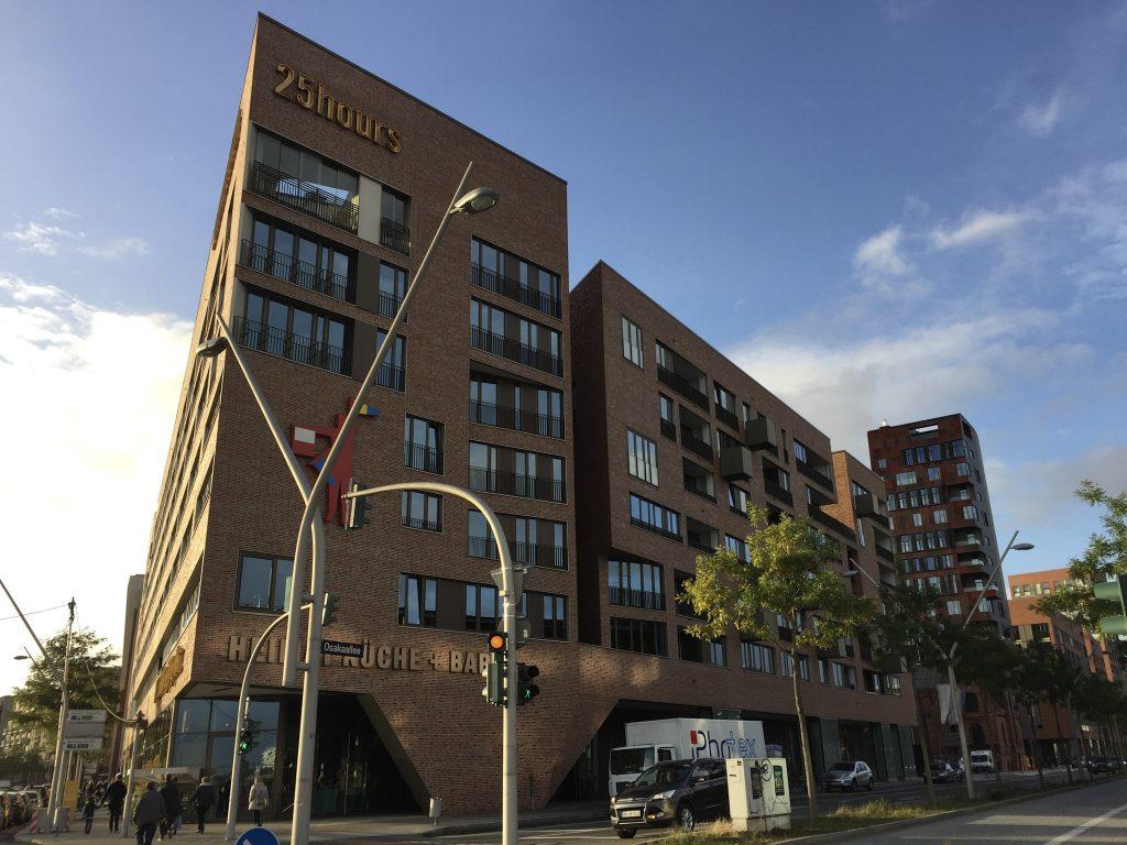 25hours Hafencity Hamburg Hotel