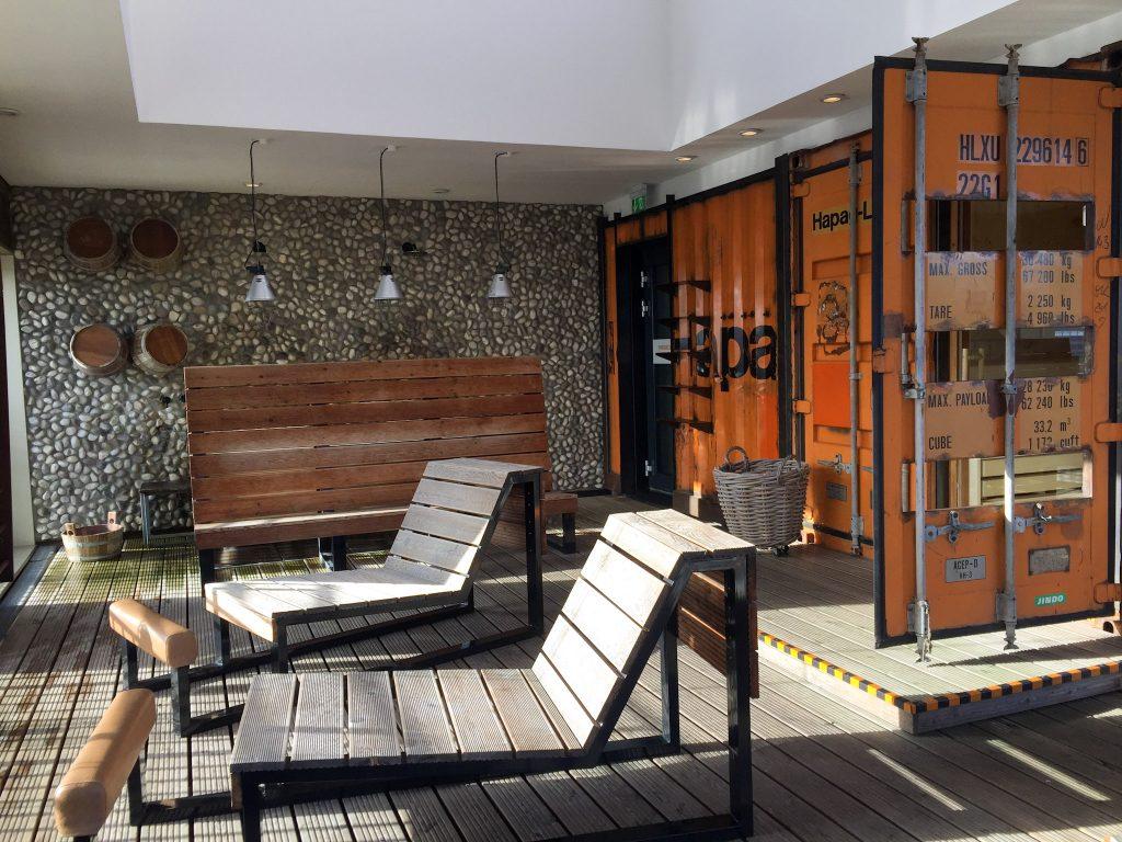 25hours Hafencity Hamburg Hotel Sauna Hafensauna