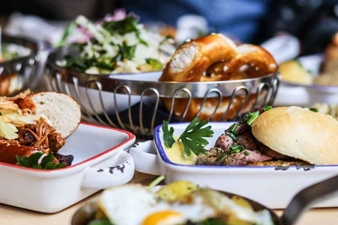 Bayerisch essen in München: Bapas - Bayerische Tapas